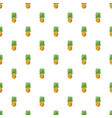 pineapple pattern vector image vector image