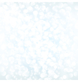 White bokeh background vector image vector image