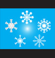 icon christmas and new year background vector image