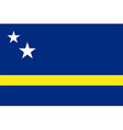 Curacao flag vector image vector image