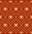 geometric islamic seamless pattern vector image