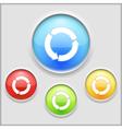 icon circular arrows vector image