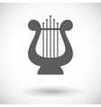 Lyra icon vector image vector image