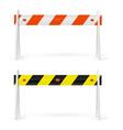 Road barrier vector image vector image