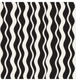 Seamless Hand Drawn Wavy Vertical Stripes vector image