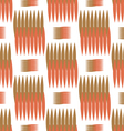 The pattern of the colored spines vector image vector image