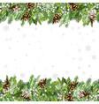 traditional christmas seamless template vector image
