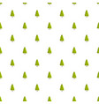 yew tree pattern seamless vector image
