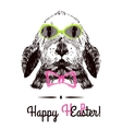 Happy Easter Hand vector image