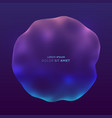 3d futuristic technology style abstract bubble vector image