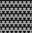 Abstract seamless houndstooth pattern vector image