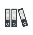 archive folder icon flat style