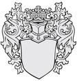 aristocratic emblem No4 vector image vector image
