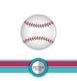 baseball icon design vector image vector image
