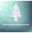Christmas and New Year template EPS8 vector image
