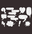 comic book text speech bubble vector image vector image