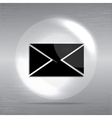 Mail web icon vector image