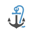 water flat icon vector image vector image