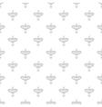 Ceramic sink pattern cartoon style vector image