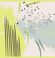 contrast neon green grunge splash bright yellow vector image vector image
