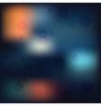 hipster shapes blur background vector image