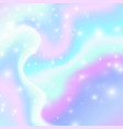 magic background with rainbow mesh vector image