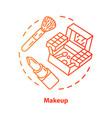 makeup blue concept icon make up artist kit