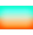 Orange Blue Gradient Background vector image vector image