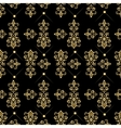 Seamless pattern with luxury damask ornament vector image vector image