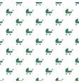 toy baby pram pattern seamless vector image
