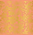 vintage floral texture vector image vector image