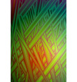 vivid green red grass abstract glitch vector image vector image