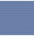 Tile blue knitting pattern or winter background vector image
