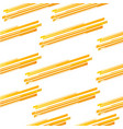 abstract yellow line pattern vector image vector image