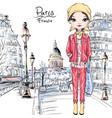 baby girl in paris