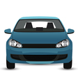 Blue Car vector image vector image