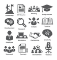 Business management icons Pack 20 vector image vector image