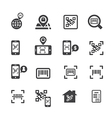 Check code icon vector image