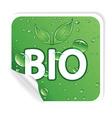 environmental sticker vector image vector image