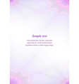 Purple page template design vector image vector image