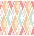 Seamless pastel triangles pattern on white vector image vector image