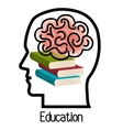 textbooks and educational helpful isolated icon vector image