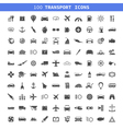 Transport icons7 vector image vector image