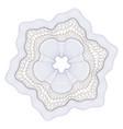 watermark guilloche design for background certifi vector image vector image