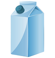 A milk container vector image vector image