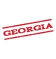 Georgia Watermark Stamp vector image vector image