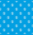 modern 3d printing pattern seamless blue vector image vector image