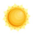 sun icon sun icon eps10 sun icon flat vector image