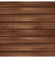 wooden blank background vector image vector image