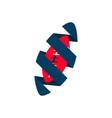 american football sport logo template design vector image vector image